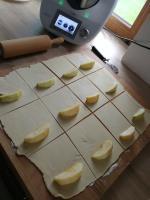 Poukładane jabłka