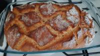 Moj pierwszy udany chlebek :-*