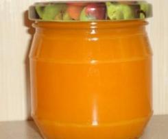 Szybki dżem  z dyni i pomarańczy