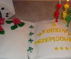 """Tort urodzinowy Przepisowni """"Mam 3-latka"""""""