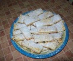Kruche ciasteczka z rodzynkami