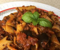 Spaghetti bolognese wegańskie