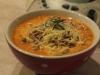 Zupa krem z pomidorów z prażonymi pestkami dyni i słonecznika