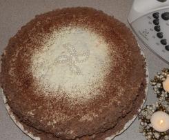 Tort z grejpfrutami