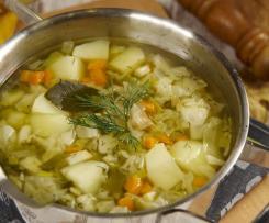 Zupa kapuściana (dieta dr Dąbrowskiej)