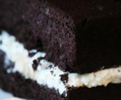 Kakaowe ciasto fasolowe - bez mąki, bez cukru, dietetyczne.