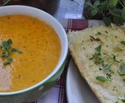 Zupa krem z czerwonej papryki
