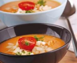 Zupa pomidorowa z drobiem