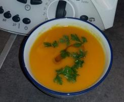 Zupa z dynii z ryżem