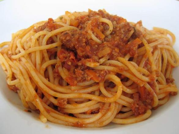 how to make spaghetti bolognese in thermomix