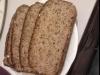 Chleb z orkiszu i kaszy gryczanej