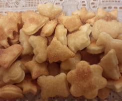 Trzy składnikowe ciasteczka serowe