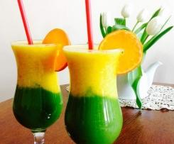 Smoothi zielono-pomarańczowe