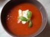 Szybka aromatyczna zupa pomidorowa
