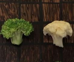 Surówka z brokułów i kalafiora - dieta Dr Dąbrowskiej