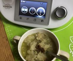 """WODZIONKA (woda+kromka=wodzionka) - najtańsza zupa, kuchnia śląska, suchy chleb (kromka) """"Rączka gotuje"""""""