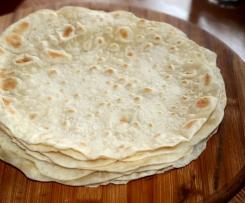 Moja tortilla pszenna - przepis podstawowy