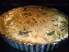 Bezglutenowa tarta z salami, mozzarellą i pomidorami