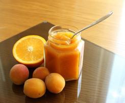 Dżem morelowo - pomarańczowy
