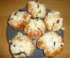 Słodkie bułki z kruszonką :-)