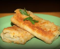 Krokiety pieczarkowo-serowe