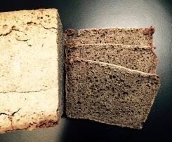 chleb gryczany z chia (bezglutenowy, bezmleczny)