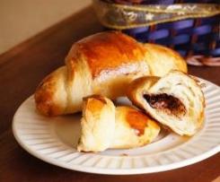 Croissants z nutellą