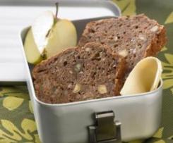Chleb jabłkowo - orzechowy