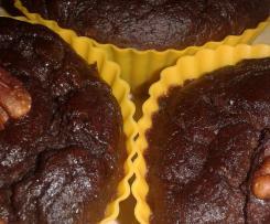 Zdrowe muffinki brownie