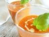 Zupa krem z pieczonej papryki i pomidorów z mascarpone