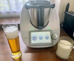 Piwo z mlekiem - koktajl orzeźwiający