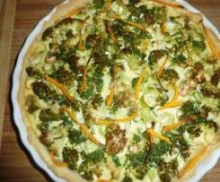 Tarta z warzywami :-)