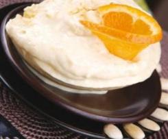 Krem twarogowo-pomarańczowy