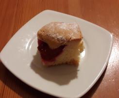 Ciasto ze śliwkami (innymi owocami do wyboru)