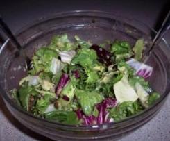 Mix sałat z sosem miodowo- musztardowym