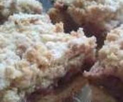 ciasto rabarbarowe z kruszonką