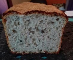 Szybki chleb pszenno-żytni z zielonym pieprzem