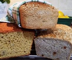 Chleb gryczany ( bezglutenowy)