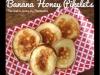Bananowe placuszki z miodem