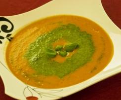 Zupa krem pomidorowo-ziołowy