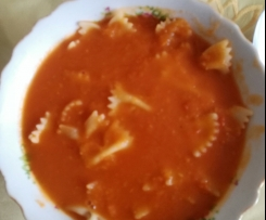 Zupa krem pomidorowa z papryką