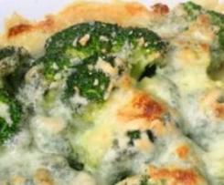 Zapiekanka brokułowa