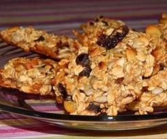 Ciasteczka owsiane - musli bez dodatku mąki