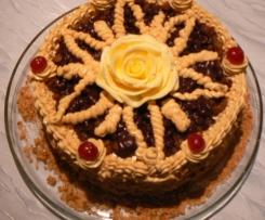 tort rumowo-karmelowy