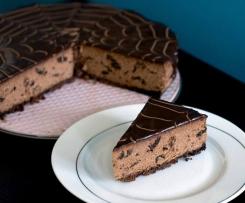 sernik czekoladowy z suszoną śliwką bezglutenowy