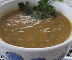 Zupa z cukinii i suszonych pomidorow