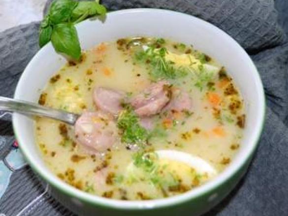 Zupa Zurek Z Ziemniakami