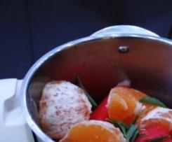 Sok owocowy słodzony stevią