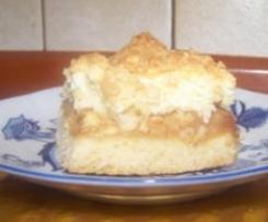 Świąteczny jabłecznik z masą kokosową lub migdałową