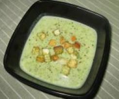Wiosenna zupa z listków rzodkiewki